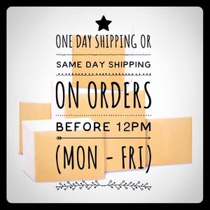 Other - One Day Shipping